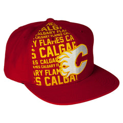 Flames Retro Half Snap Cap