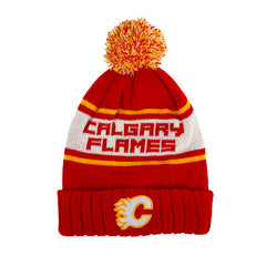 Flames Pillow Line Retro Knit