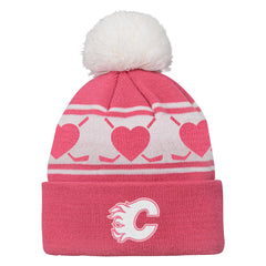 Flames Girls Heart Knit
