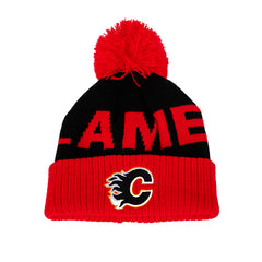 Flames Infant Jacquard Pom Knit