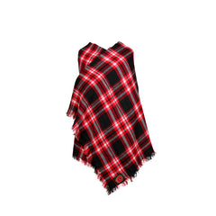 Flames Ladies Blanket Plaid Scarf