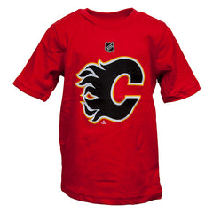 Flames Toddler Primary T-Shirt