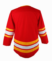 Flames Toddler White C Jersey