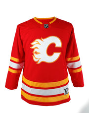 Flames Youth White C Jersey