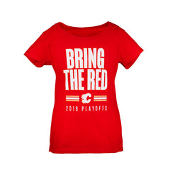 Flames Ladies Bring The Red T-Shirt