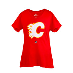 Flames Ladies Fanatics Retro Gaudreau T-Shirt