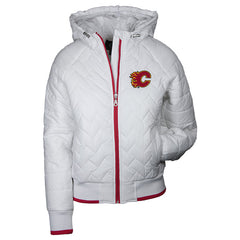 Flames Ladies Drop Back F/Z Jacket