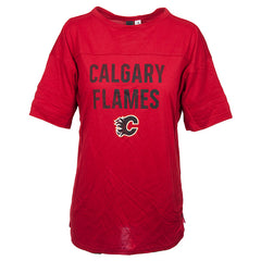 Flames Ladies Big City Block T-Shirt