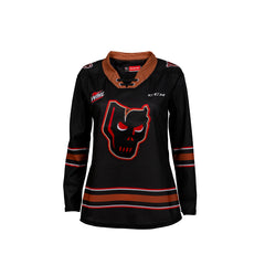 Hitmen Ladies Quicklite Jersey Black