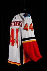 17-18 Game Worn Jersey Bartkowski Away Set 2