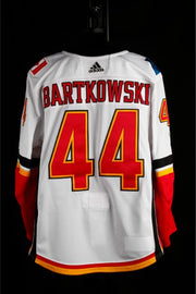 17-18 Game Worn Jersey Bartkowski Away Set 1
