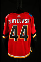 17-18 Game Worn Jersey Bartkowski Home Set 1