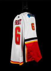 18-19 Game Worn Jersey Prout Away Set 2