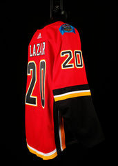 18-19 Game Worn Jersey Lazar Home Set 1