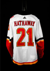 18-19 Game Worn Jersey Hathaway Away Set 3