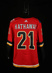 18-19 Game Worn Jersey Hathaway Home Set 2