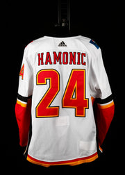 18-19 Game Worn Jersey Hamonic Away Set 1