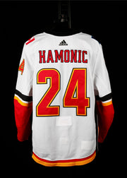 18-19 Game Worn Jersey Hamonic Away Set 2