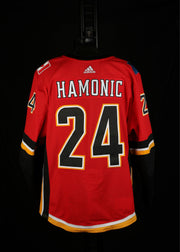 18-19 Game Worn Jersey Hamonic Home Set 2