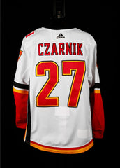 18-19 Game Worn Jersey Czarnik Away Set 2