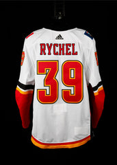 18-19 Game Worn Jersey Rychel Away Set 1
