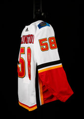 18-19 Game Worn Jersey Kylington Away Set 1