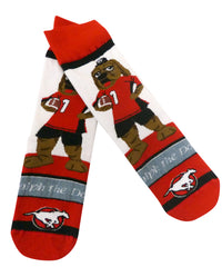 Yth Ralph the Dog Sock Red