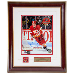 Flames Forever a Flame Nieuwendyk Autographed 8x10 Photo