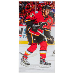 "FLAMES MONAHAN 14""X28"" CANVAS"