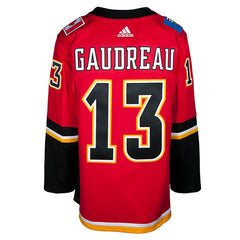 Flames ADIDAS Gaudreau Home Jersey