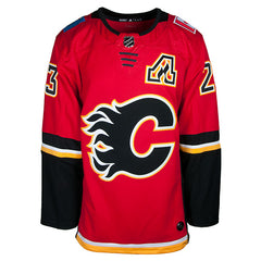 Flames ADIDAS Monahan Home Jersey