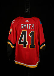 18-19 Game Worn Jersey Smith Home Set 2A