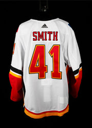 18-19 Game Worn Jersey Smith Away Set 1B