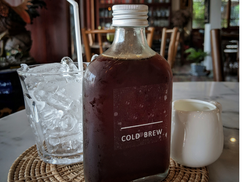 cold brew Rujani tea