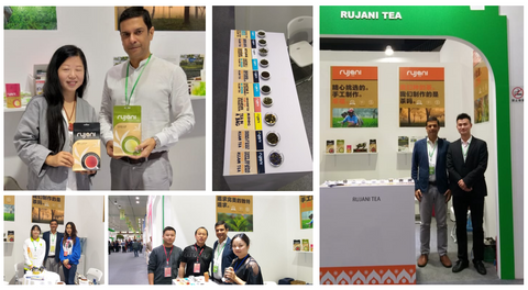 Rujani Tea at the 4th International Tea Culture Expo in China's Tea Town-Mount Emei