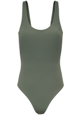 Augustine Amsterdam Swimwear army-green / XS Amber Classic bathing suit
