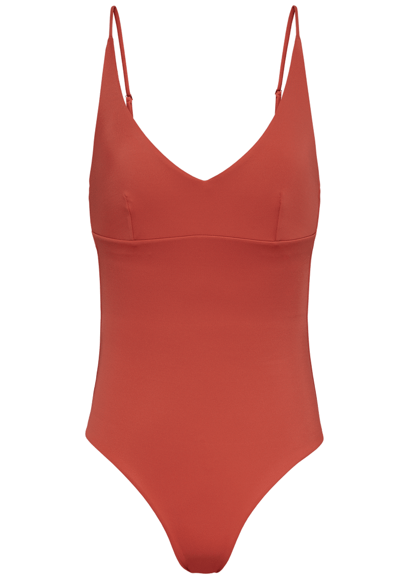 Augustine Amsterdam Swimwear Pine V-neck bathing suit