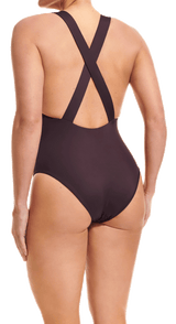 Augustine Amsterdam Swimwear White Cross Back Bathing Suit