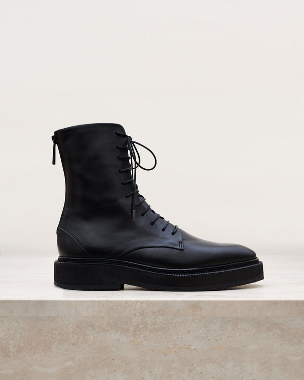 ESSĒN Boots The Black Classic Combat