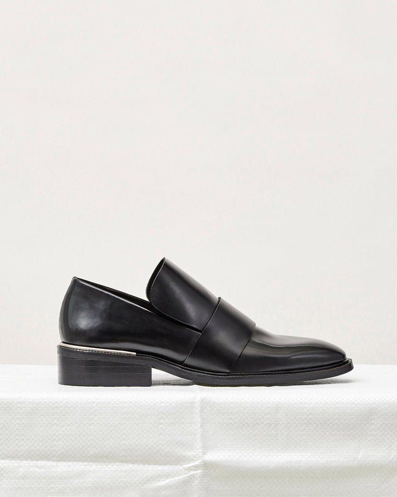 ESSĒN Shoes Black / Leather / 35 Black Luxe Loafer