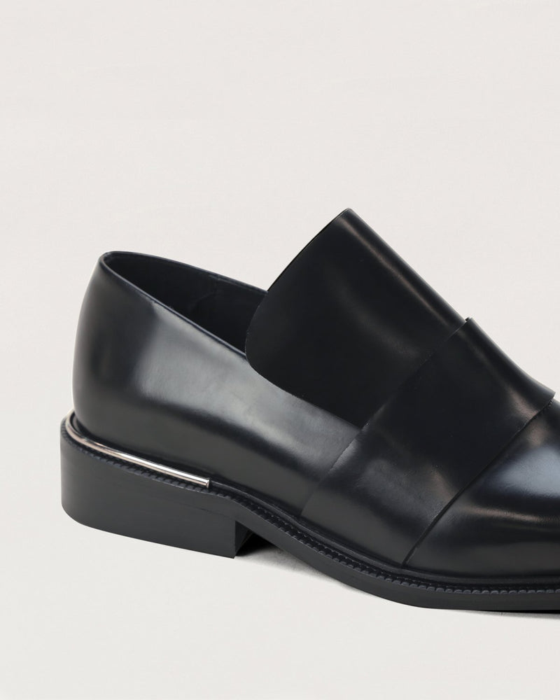 ESSĒN Shoes Black Luxe Loafer