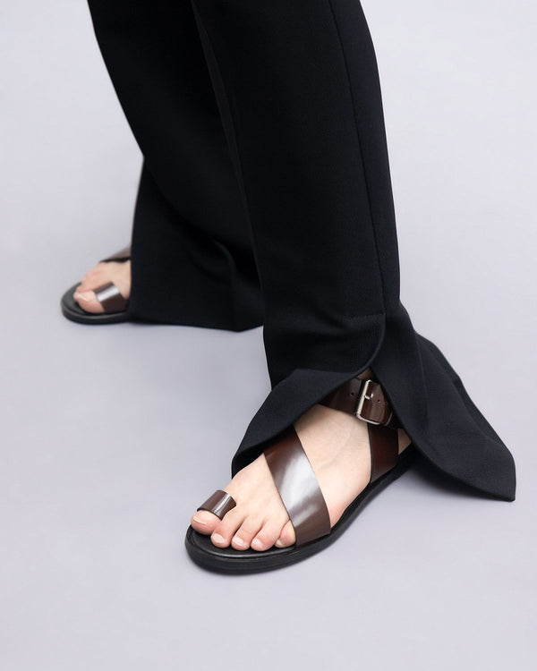 ESSĒN Shoes Espresso City Sandals
