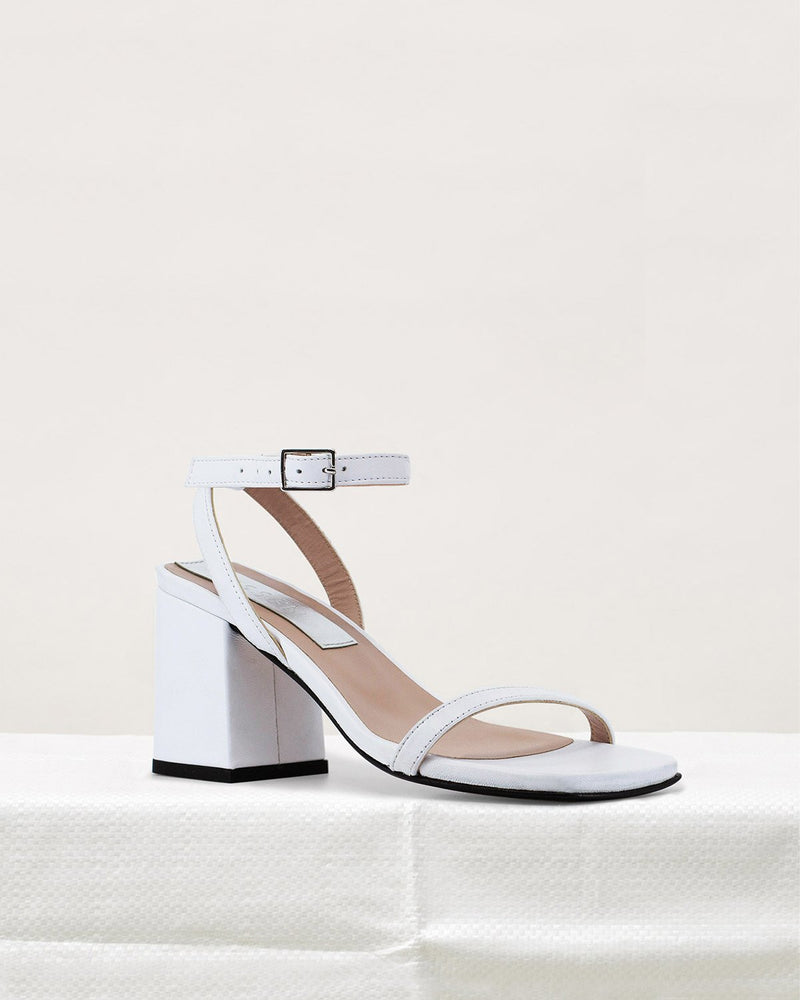 ESSĒN Shoes White Elevated Essential