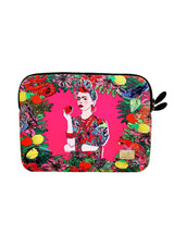 "Jessica Russell Flint Laptop Case Laptop Case / ""Mexican Woman"""