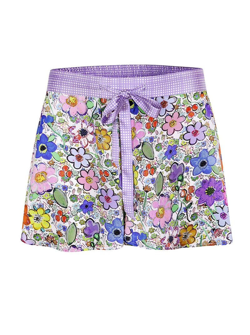Jessica Russell Flint Pyjama Shorts Paint By Flora Pajama Shorts