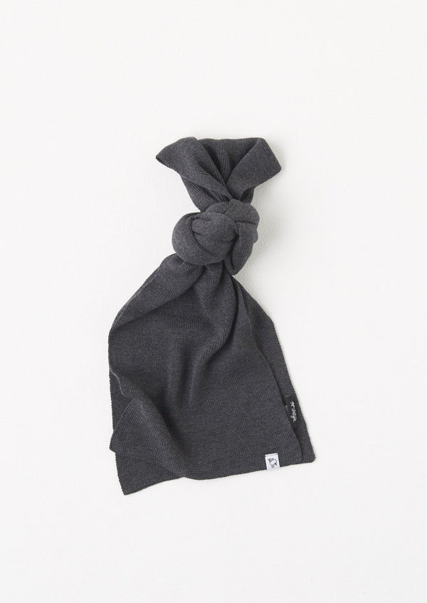 McIntyre scarfs charcoal / one size Charcoal Wannon Merino Scarf