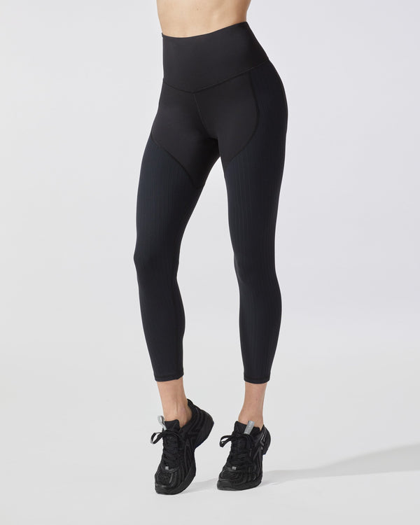 MICHI Leggings Black / XX-Small Rocket Ribbed Legging