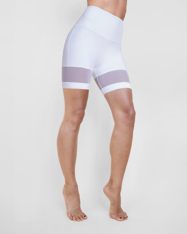 MICHI Shorts White / X-Small Kinetic Bike Short