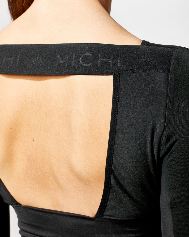 MICHI Tops Rally Crop Top