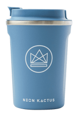 Neon Kactus Zero Waste Blue Roman Stainless Steel Coffee Cup 340ML